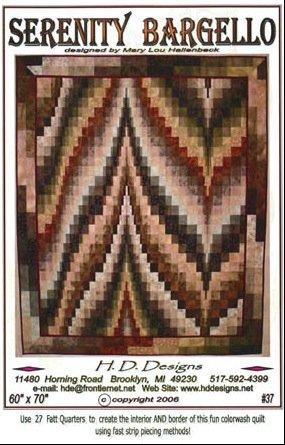 *Serenity Bargello Pattern - HDD37
