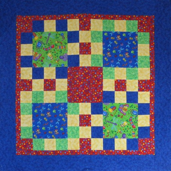 *Nifty Nine Patch Quilt Pattern - SQP-201