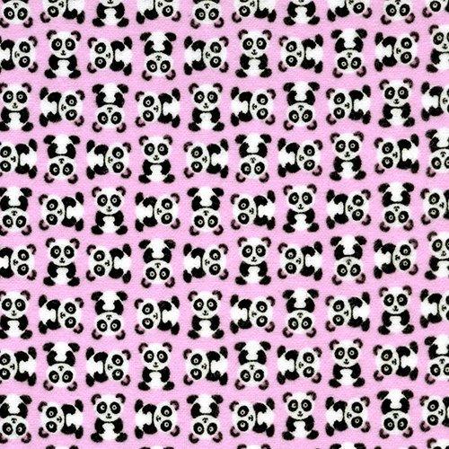 Pink Flannel Pandas - CF1386