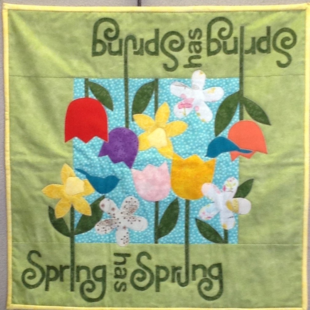 April Table Please - Spring Has Sprung Table Topper- TPAPK-01