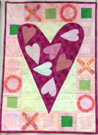 *Calendar Quiltlet of the Month- February Fabric Kit - CALFEK-001