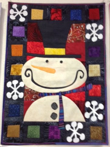 *Calendar Quiltlet of the Month- January Fabric Kit - CALJAK-001