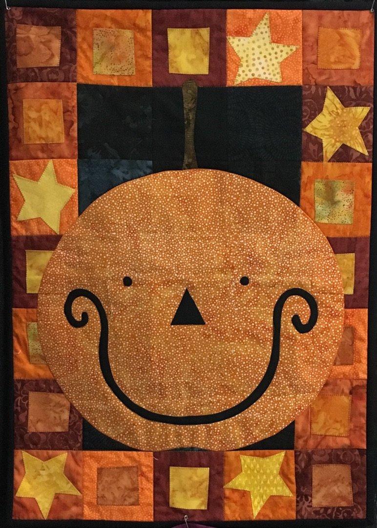 *Calendar Quiltlet of the Month- October Fabric Kit - CALOCK-02