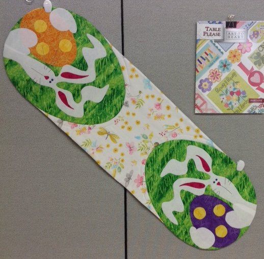 March Table Please - Happy Easter Table Runner- TPMAK-01