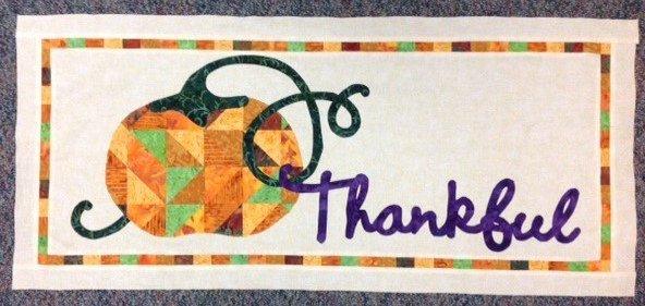 *September Table Please - Thankful Table Runner- TPSEPK-1