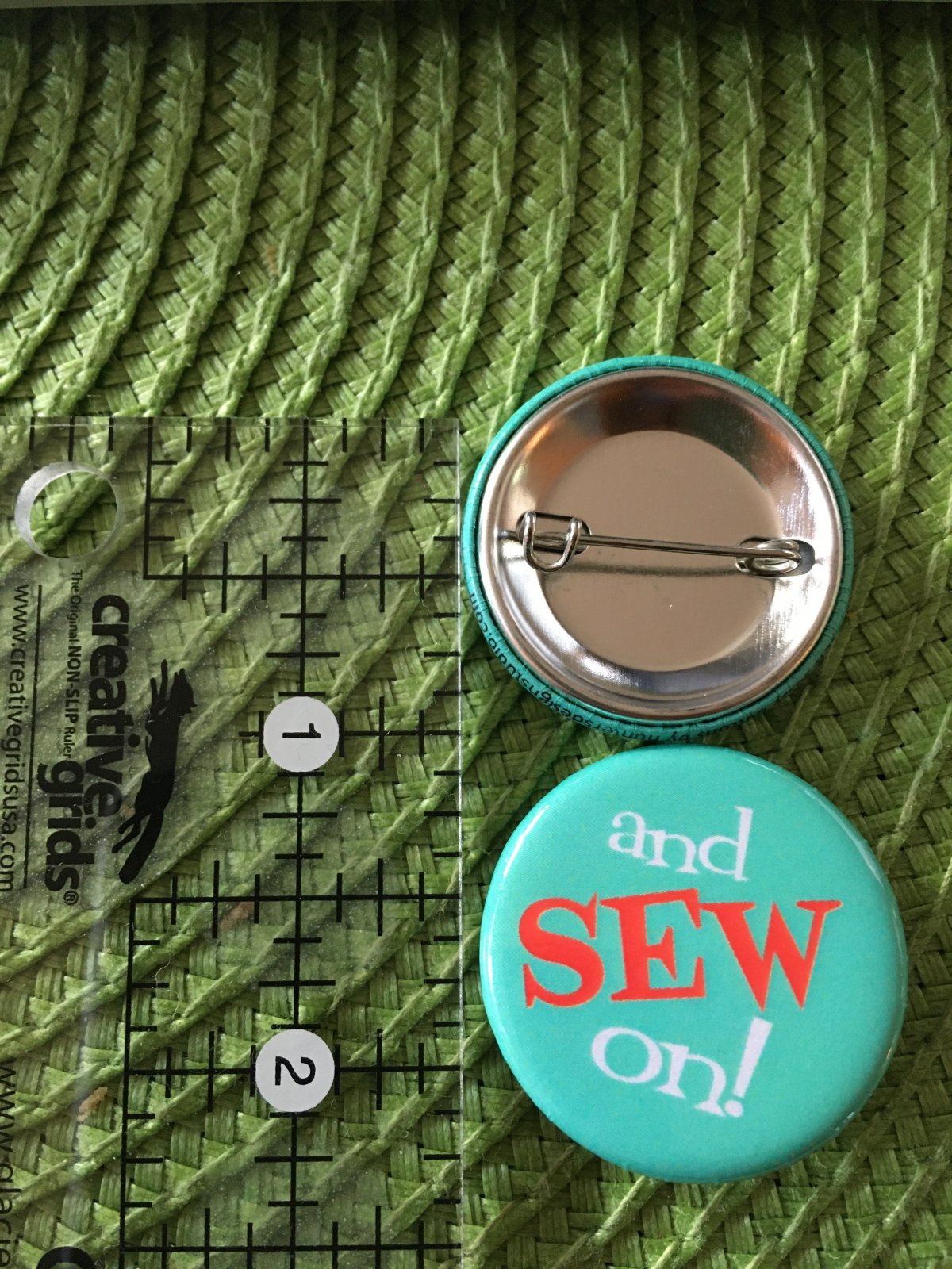 *Sew Sassy Button - and SEW on! - ASO