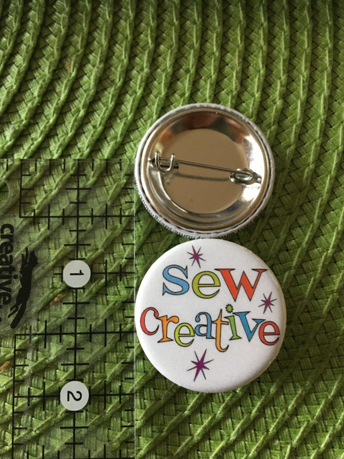 *Sew Sassy Button - sew creative - SC