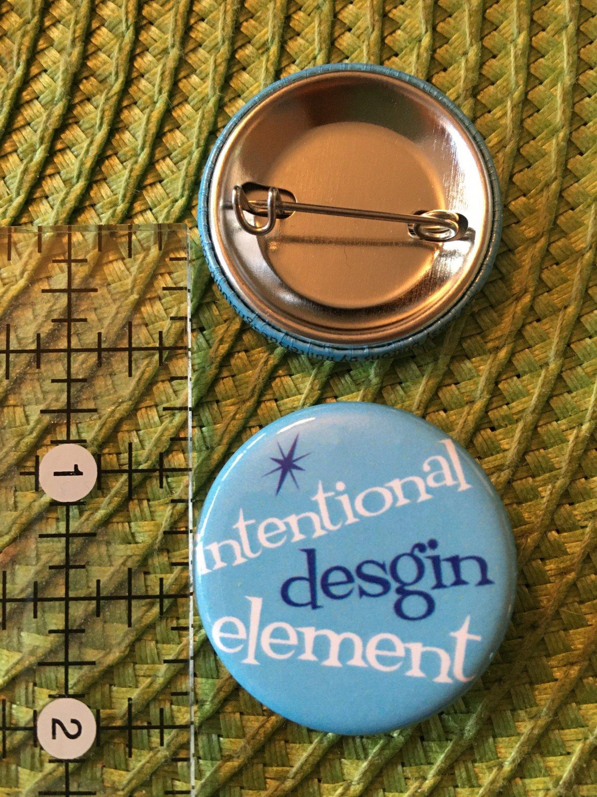 *Sew Sassy Button - Intentional Desgin Element - IDE