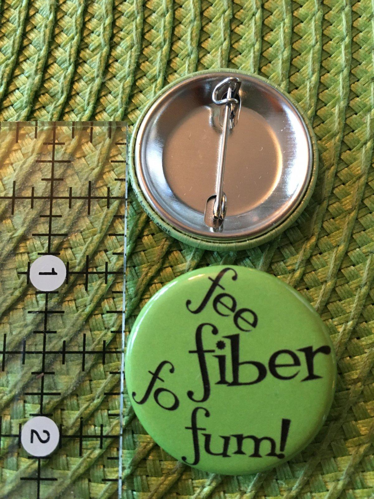 *Sew Sassy Button - fee fiber fo fum - FFFF
