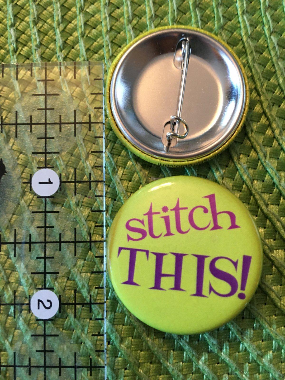 *Sew Sassy Button - stitch THIS! - ST