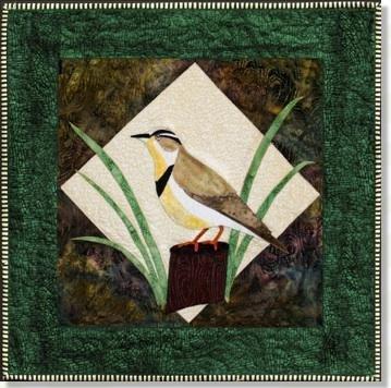 *Western Meadowlark Applique Pattern - 51002