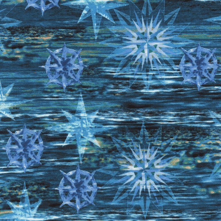 Turquoise Shimmering Water Dark - JN-C3705T