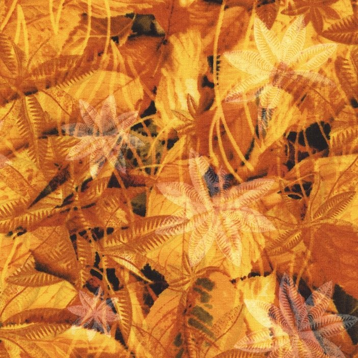 *Amber Fall Leaves - JN-C4064