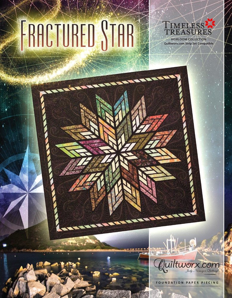 Judy Niemeyer STEPPING STONES Foundation Paper Pieced Quilt Pattern