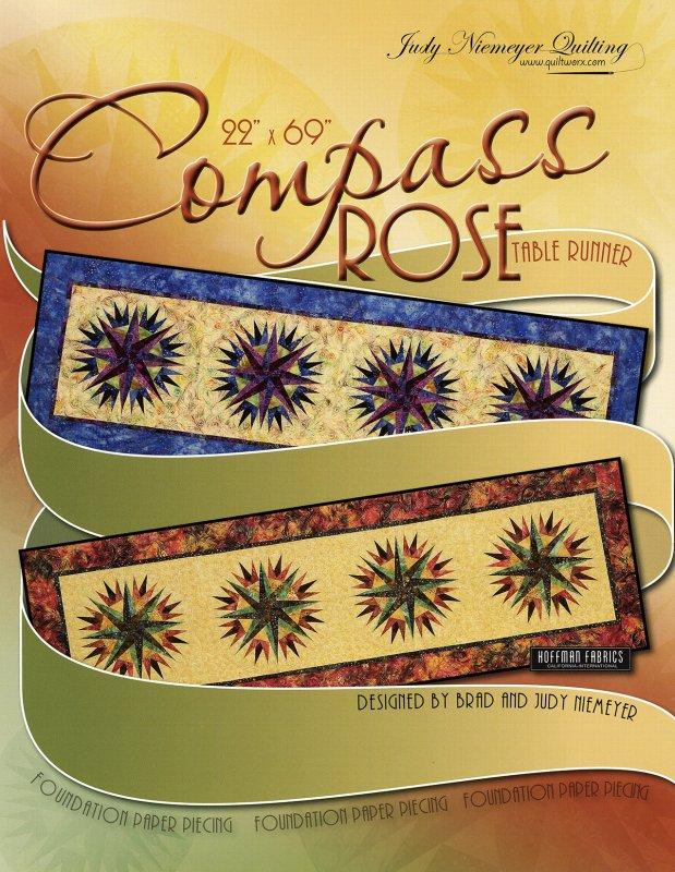 *Compass Rose Table Runner Pattern - JNQ114P