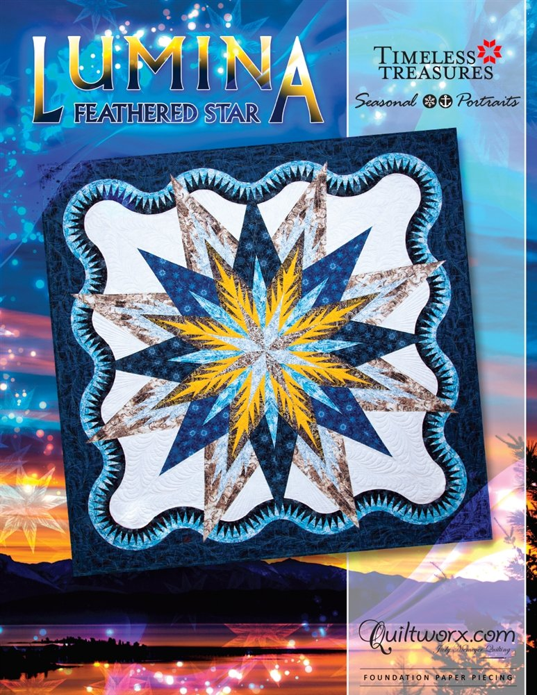 Lumina Feathered Star Pattern - JNQ135P-WSAS