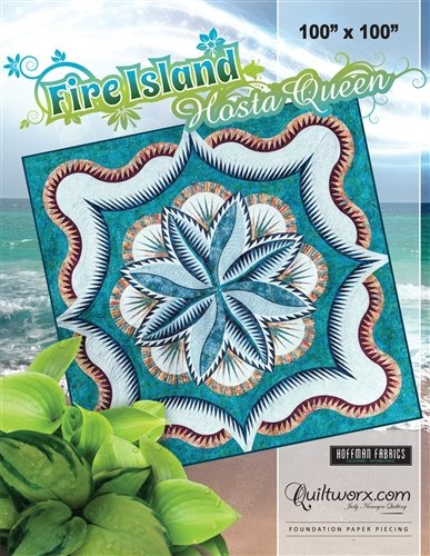Fire Island Hosta Queen Pattern - JNQ138P-WS