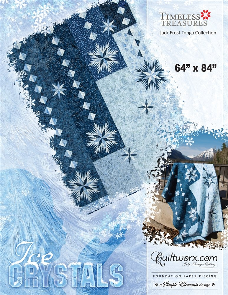 Ice Crystals Pattern - JNQ141P-WS
