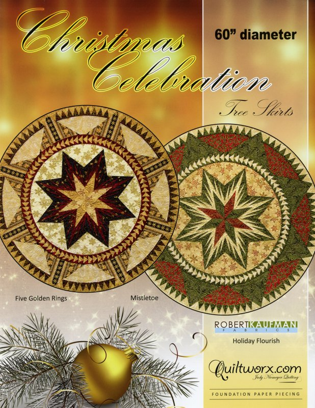 *Christmas Celebration Tree Skirts Pattern - JNQ153P
