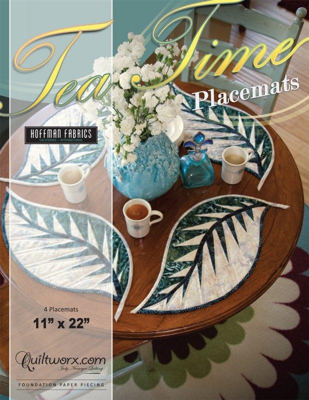 *Tea Time Placemats Pattern - JNQ155P