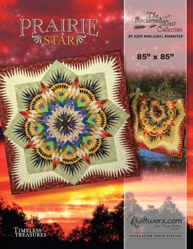 Prairie Star Pattern - JNQ167P