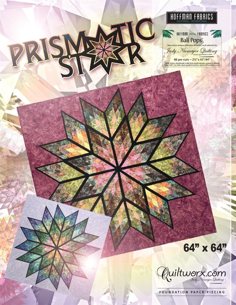 Prismatic Star Pattern - JNQ176P-WS