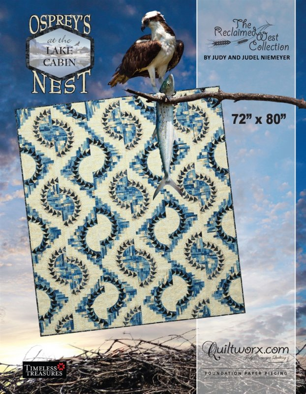 *Osprey's Nest at the Lake Cabin Pattern - JNQ177P