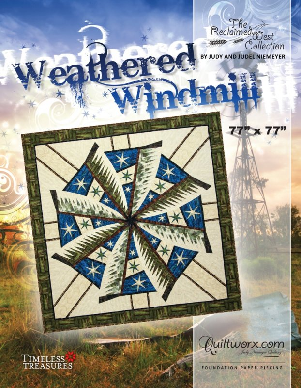 Weathered Windmill Pattern - JNQ179P