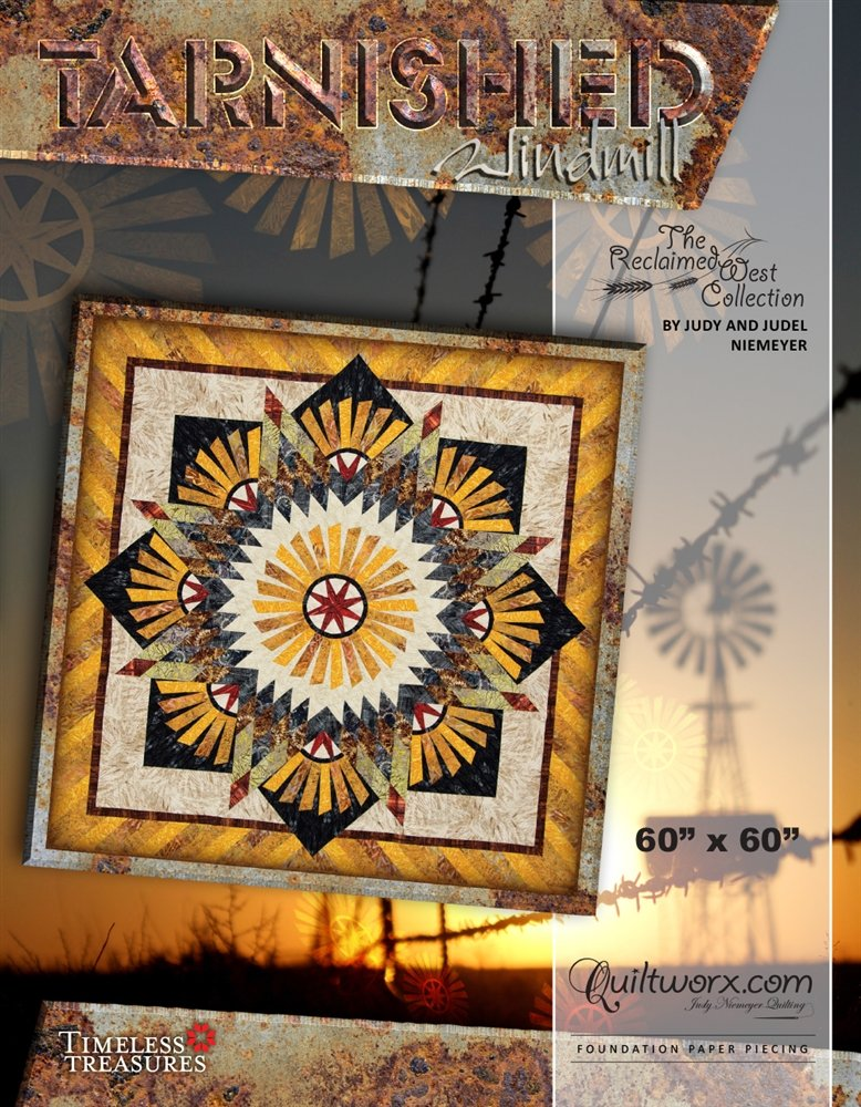 Tarnished Windmill Pattern - JNQ181P-WSAS