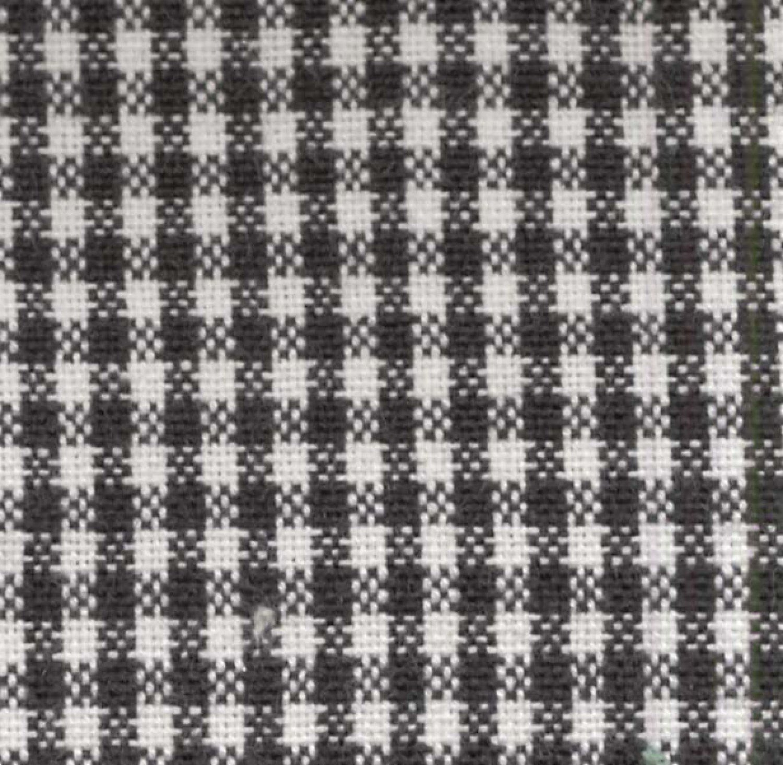 Tea Towel Mini Check Black/White - K315-BLK