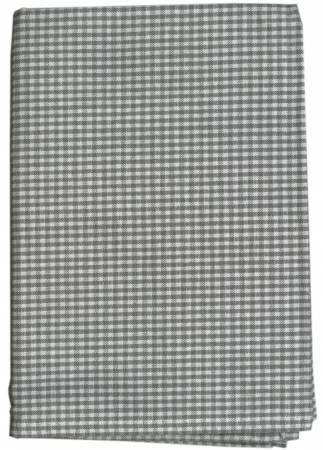 Tea Towel Mini Check Grey/White - K315-GY