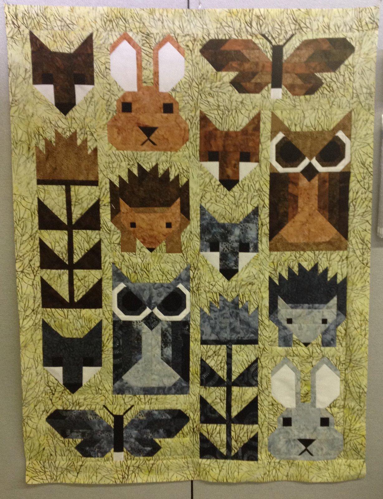 Fancy Forest Fabric Kit - FFFK1
