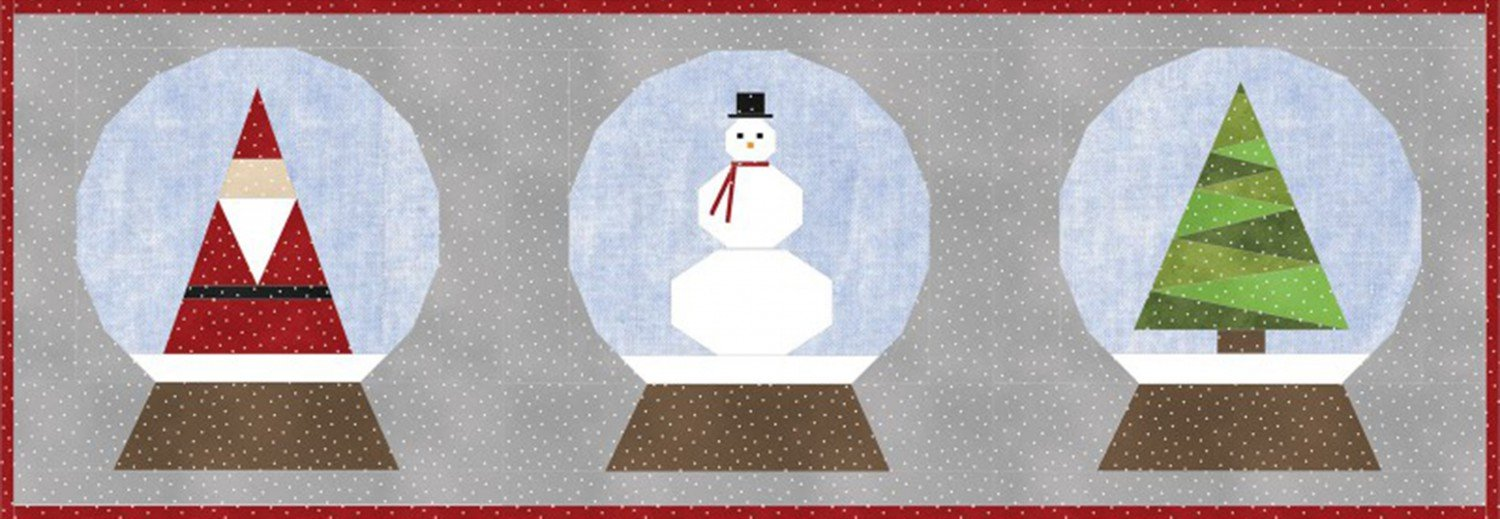 Holiday Snow Globes - KIT-MASHSG - MAY BE RESTOCKED UPON REQUEST