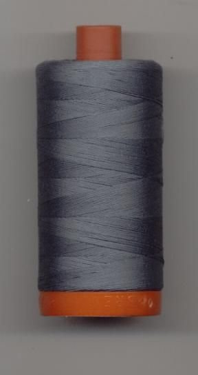 *Aurifil 50 wt. Cotton Mako Thread (Gray) - 200-1246