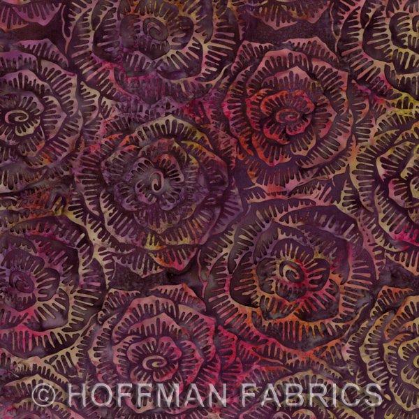 *Zinfandel Graphic Floral Batik - L2666-390