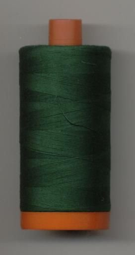 *Aurifil 50 wt. Cotton Mako Thread (Forest Green) - 20051-4026