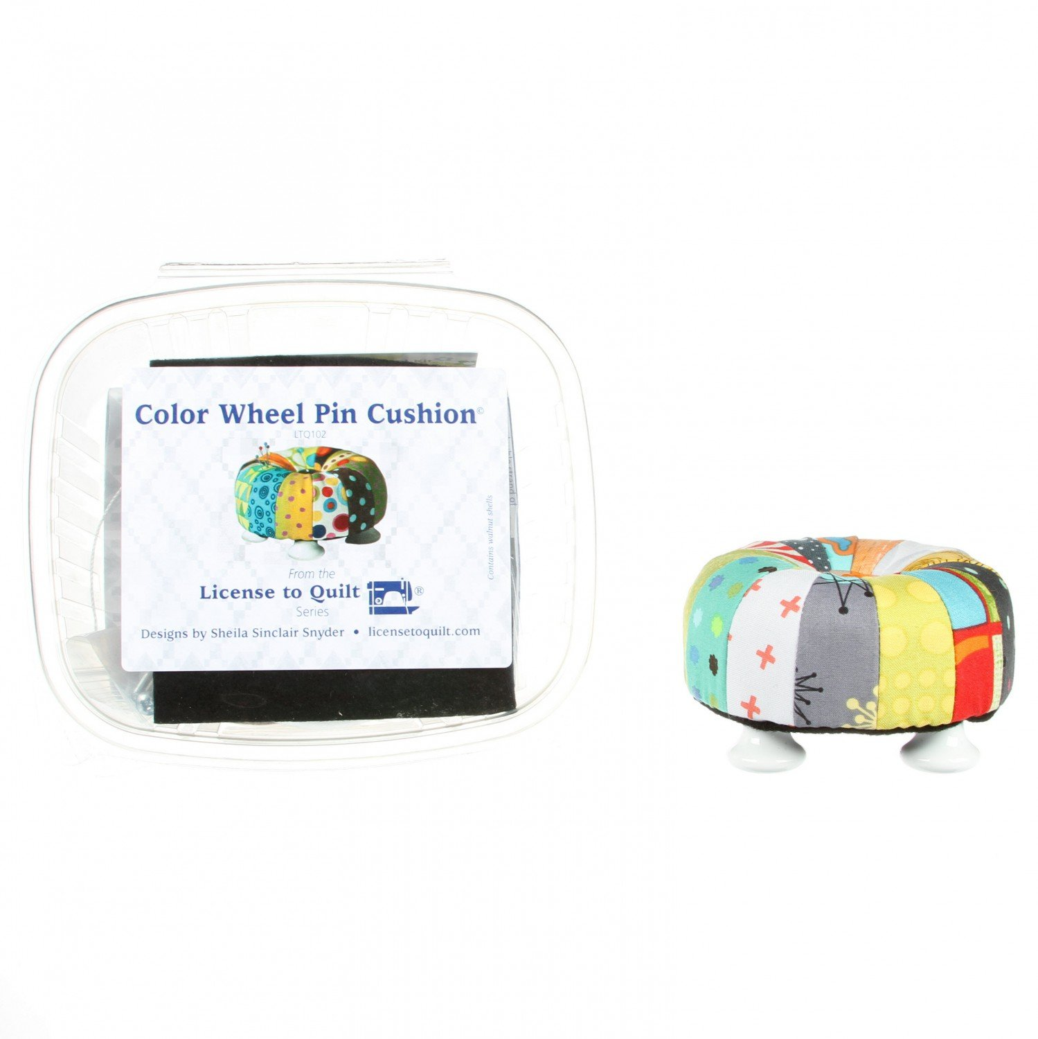Color Wheel Tuffet Pin Cushion Kit - LTQ102