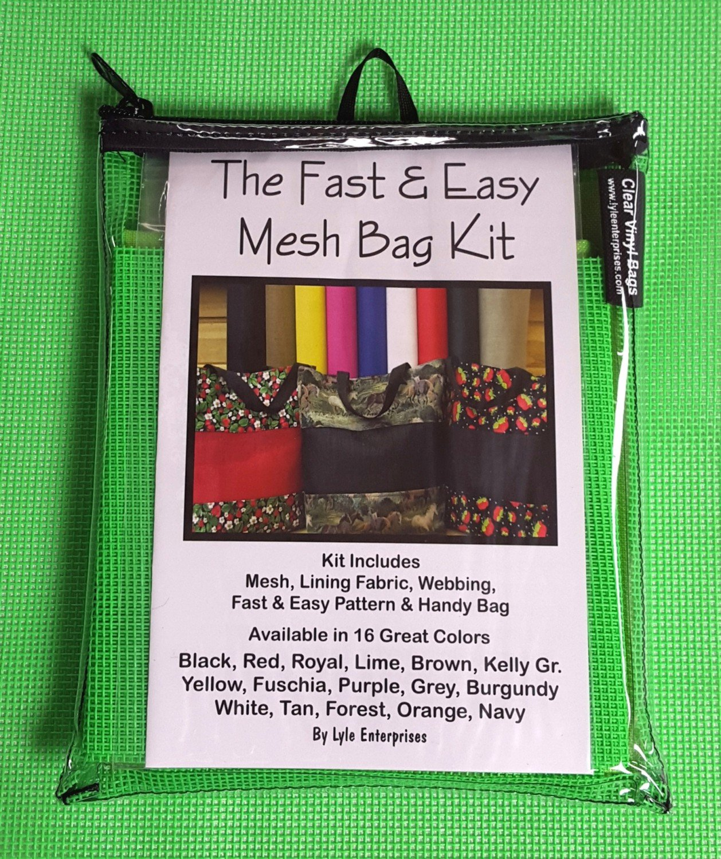 Lime Mesh Bag Kit - MBK-10