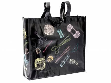 Chalkboard Notions Shopping Tote - MR464215