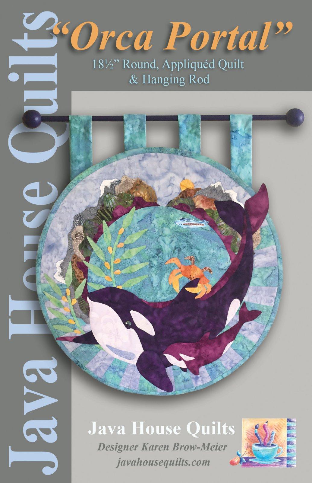 *Orca Portal Wall Hanging Pattern