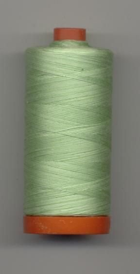 *Aurifil 50 wt. Variegated Cotton Mako Thread (Spring Green) - 20051-3320