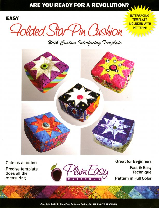*Folded Star Pin Cushion Pattern - PEP104
