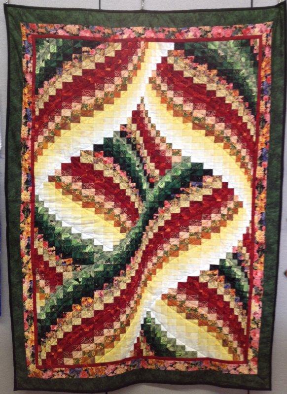 *Ribbon Bargello Quilt Pattern - SQP-203