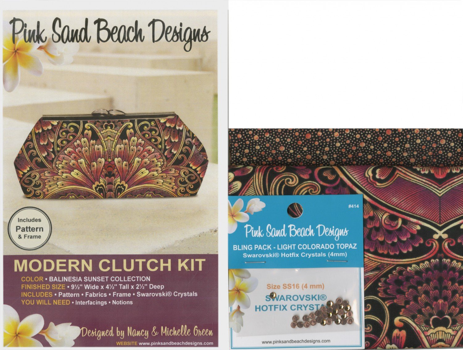 Modern Clutch Balinesia Sunset Kit Pack - PSB232K-SU