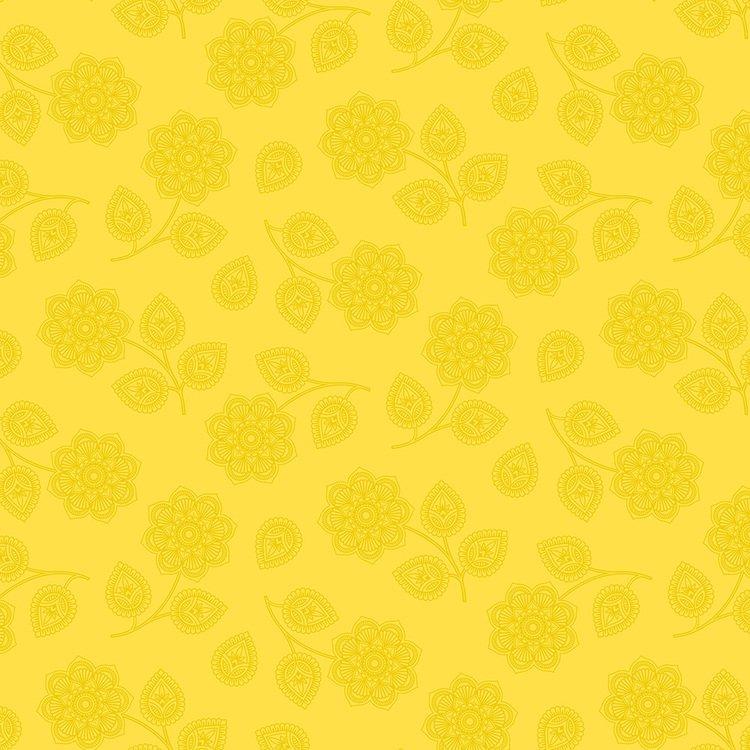 Henna Mustard Seed Flower - PWTP074.MUSTA