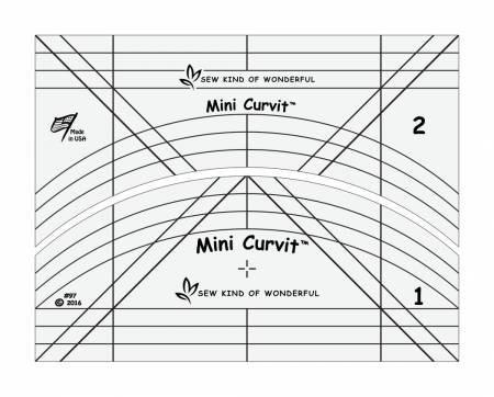 Mini Quick Curve Ruler - QCRMINI