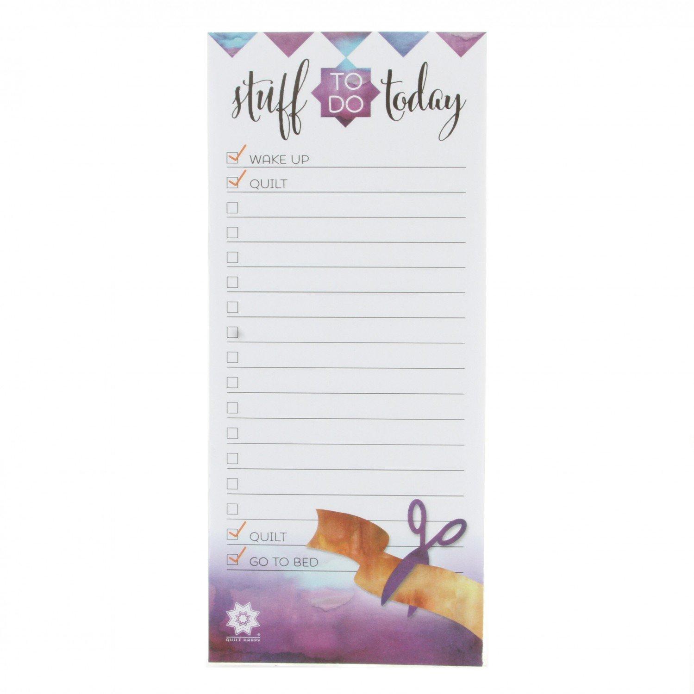 Quilt Happy Notepad - QH422