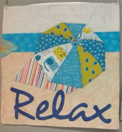 *Imagine- Art to Heart  - Relax Mini Quilt - ATHRELK-01