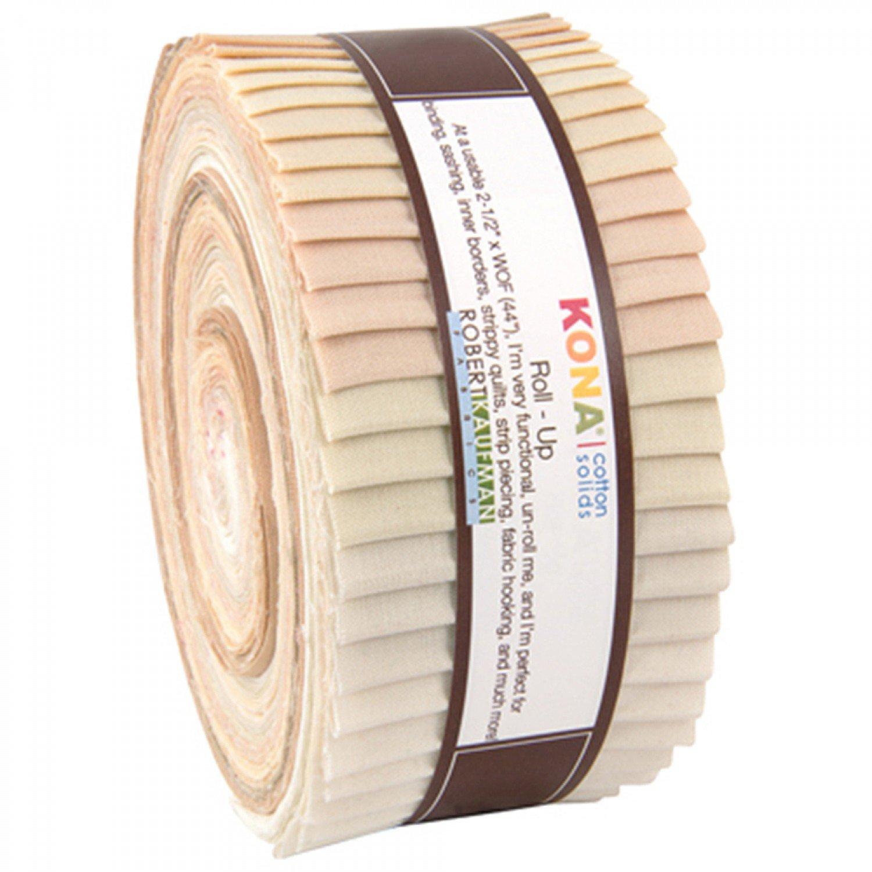 Kona Cotton Not Quite White Roll Up - RU-428-40