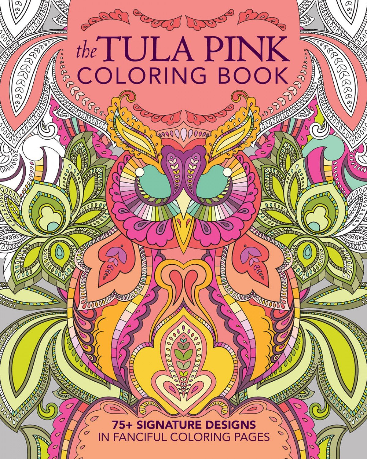 Tula Pink Coloring Book - S0476